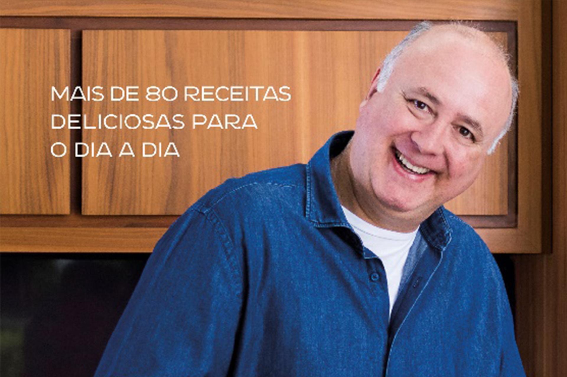 Da TV à mesa: livro reúne receitas de sucesso do conhecido chef Daniel Bork