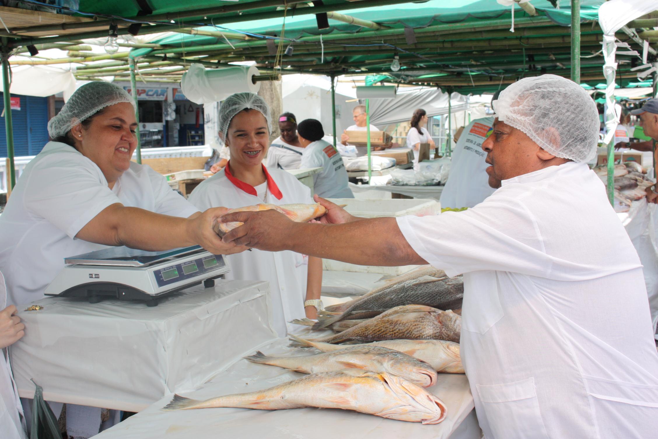 Feira do Pescado: 25 toneladas de peixes à venda na Semana Santa