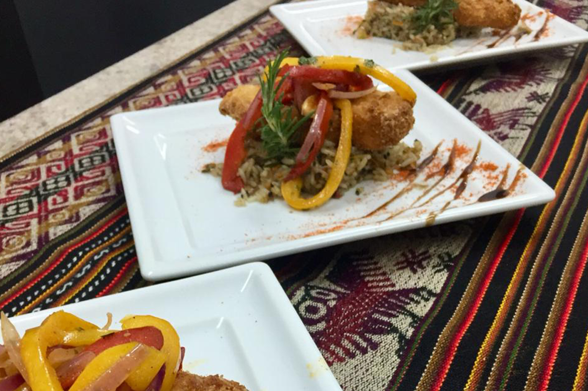 Mini degustações no Restaurante Maíz